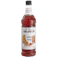 Monin 1 Liter Premium Honey Syrup