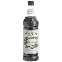 Monin 1 Liter Premium Blackberry Flavoring / Fruit Syrup