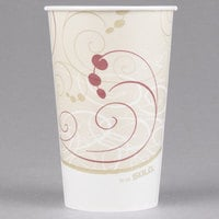 Solo RW16-J8000 Symphony 16-18 oz. Wax Treated Paper Cold Cup - 1000/Case