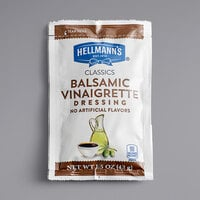 Hellmann's 1.5 oz. Balsamic Vinaigrette Dressing Packet - 102/Case