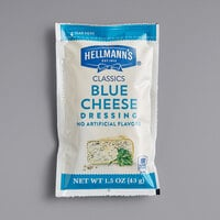 Hellmann's 1.5 oz. Blue Cheese Dressing Packet - 102/Case
