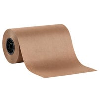 Lavex Packaging 12 inch x 700' 40# Pink / Peach Void Fill Packing Paper Roll