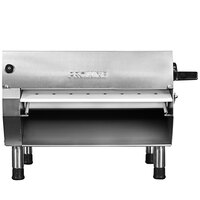 Proluxe DPR2000B Countertop 20 inch One Stage Dough Roller, 250 Pieces/Hour - 120V, 3/4 hp