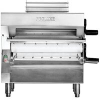 Proluxe DPR3000B Countertop 20 inch Two Stage Dough Roller, 250 Pieces/Hour - 240V, 3/4 hp