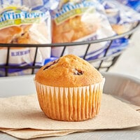 Muffin Town Smart Choice 2 oz. Individually Wrapped Blueberry Muffin - 72/Case