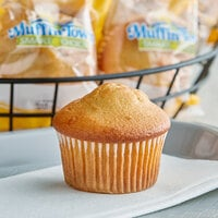 Muffin Town Smart Choice 2 oz. Individually Wrapped Banana Muffin - 72/Case