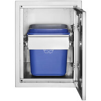 Crown Verity IBILC-GH Infinite Series Large Built-In Cabinet with Garbage Holder