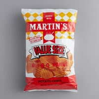 Martin's 15 oz. BBQ Waffle Chips - 6/Case