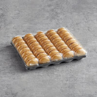 White Toque French Caramel Macarons - 35/Tray