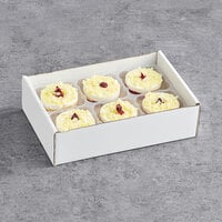 David's Cookies Annie's 5.5 oz. Raspberry Lemon Drop Cake - 24/Case