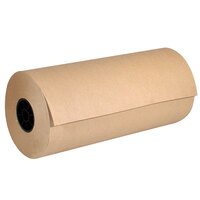 Lavex Packaging 18 inch x 900' 40# Natural Kraft Void Fill Packing Paper Roll