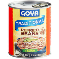 Goya 30 oz. Refried Pinto Beans - 12/Case