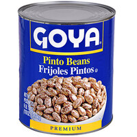 Goya #10 Can Pinto Beans - 6/Case