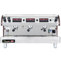 Cecilware Venezia II ESP3-220V 3 Group Espresso Machine 240V