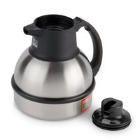 Bunn 36029.0001 Zojirushi 62 oz. Stainless Steel Deluxe Thermal Carafe with Black Top
