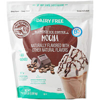 Big Train 3.5 lb. Dairy Free Mocha Blended Ice Coffee Mix