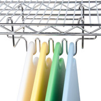 San Jamar CNCRK Cut-N-Carry Cutting Board Hanging Hook Rack