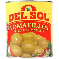 Del Sol Whole Tomatillos #10 Can