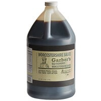 Regal Foods Worcestershire Sauce 1 Gallon Bulk Container - Garber's Brand - 4/Case