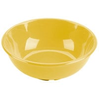 Thunder Group CR5807YW Yellow 32 oz. Melamine Salad Bowl - 12/Case
