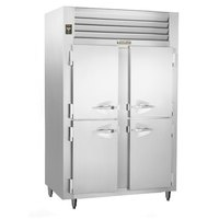 Traulsen ALT232DUT-HHS 42 Cu. Ft. Two-Section Solid Half Door Narrow Reach-In Freezer - Specification Line
