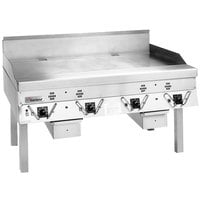 Garland ECG-48R 48 inch Master Electric Production Griddle - 208V, 1 Phase, 17.2 kW