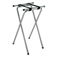 GET TSC-102 32 inch Folding Chrome Tray Stand