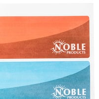 Noble Products Wash, Rinse, Sanitize, and Water Level Permanent Sink Labels