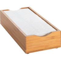 Cal-Mil 1234 Bamboo Napkin Holder - 9 1/2 inch x 4 3/4 inch x 2 inch