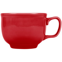Fiesta Tableware from Steelite International HL149326 Scarlet 18 oz. Jumbo China Cup - 12/Case