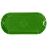 Fiesta Tableware from Steelite International HL412324 Shamrock 12 inch x 5 11/16 inch Oval China Bread Tray - 6/Case
