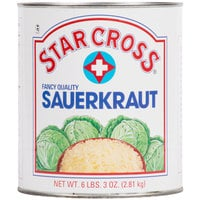 Star Cross Sauerkraut #10 Can