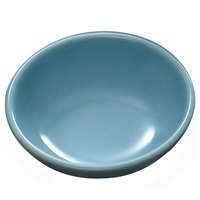 Thunder Group 3945 Blue Jade 6 oz. Round Melamine Sauce Dish - 12/Case