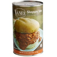 Vanee 156GZ Beef Sloppy Joe - 6/Case