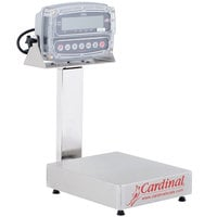 Cardinal Detecto EB-15-190 15 lb. Electronic Bench Scale with 190 Indicator and Tower Display, Legal for Trade