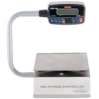 Tor Rey PZC-10/20 20 lb. Digital Pizza Controller Portion Scale with Foot Tare Pedal