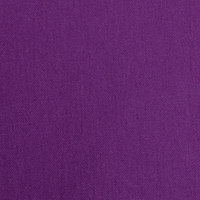 Intedge 36 inch x 36 inch Square Purple Hemmed Polyspun Cloth Table Cover