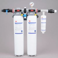 3M Water Filtration Products DP290 Dual Port Water Filtration System - .2 Micron Rating and 10 GPM
