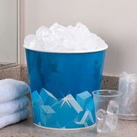 Lavex Lodging 10 lb. Disposable Paper Ice Bucket - 150/Case
