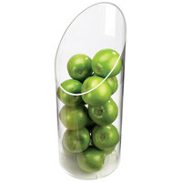 Cal-Mil 1324-16 Sloped Clear Plastic Accent Display Vase - 6 inch x 16 inch