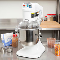 Globe SP08 Gear Driven 8 Qt. Commercial Countertop Mixer - 115V, 1/4 hp