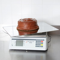 Cardinal Detecto RP30S 30 lb. Rotating Digital Ingredient Scale with Rectangular Platform