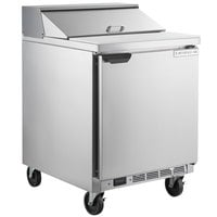 "Beverage-Air SPE27HC-B Elite Series 27"" 1 Door Refrigerated Sandwich Prep Table"