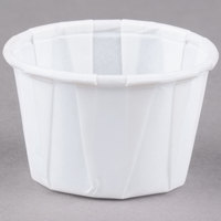 Solo SCC100 1 oz. White Paper Souffle / Portion Cup - 5000/Case