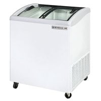 Beverage-Air NC28HC-1-W 28 inch Curved Lid Novelty Display Freezer