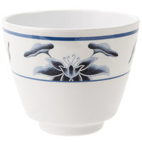 GET M-077C-B Water Lily 5.5 oz. Melamine Tea Cup - 24/Case