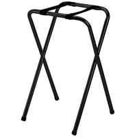 Tablecraft 23BK Black-Powder-Coated Metal Tray Stand - 29 1/2 inch