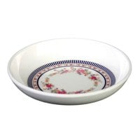Thunder Group 1004AR Rose 4 oz. Round Melamine Sauce Dish - 12/Pack