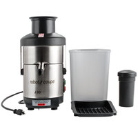 Robot Coupe J80 Automatic Juicer with Pulp Ejection - 120V, 3000 RPM