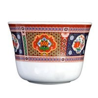 Thunder Group 9152TP Peacock 5 oz. Melamine Tea Cup - 12/Case